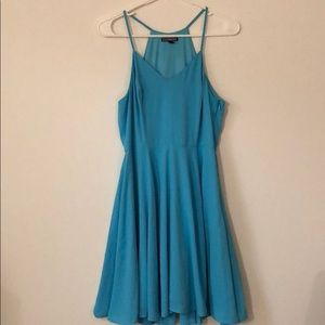 Express light blue dress size 6